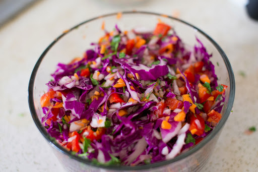 Vegetarian Thai Quinoa Salad–Prep on the weekend for Easy Week day Meal