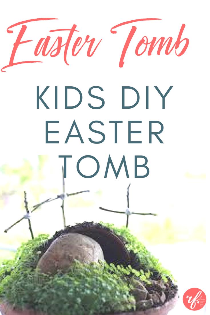 DIY Easter Empty Tomb Craft