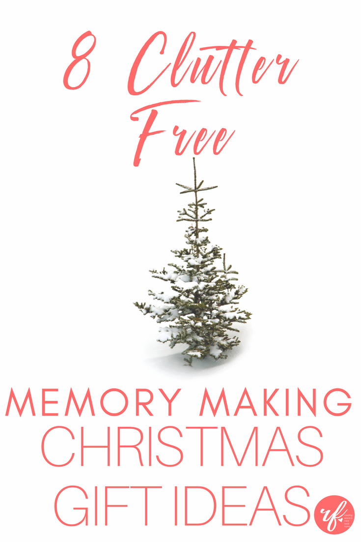 8 Clutterfree Memory Making Christmas Gift Ideas