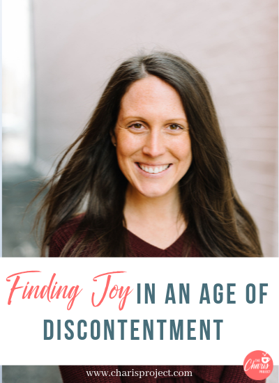 Finding Joy In An Age of Discontentment with Chelsey DeMatteis- 039