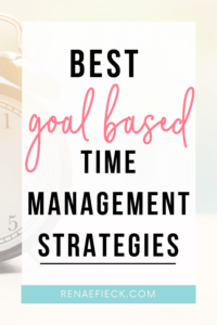 goal strategies