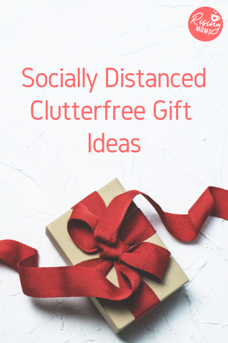 Socially Distanced Clutterfree Gift Ideas